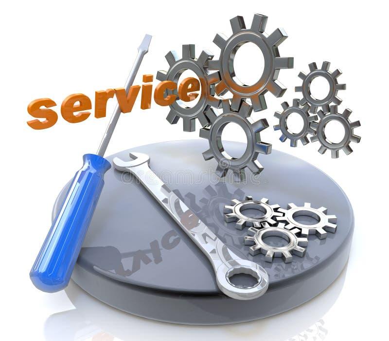 Service concept stock image