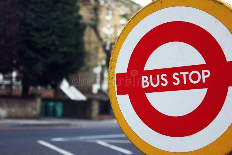 Service d'autobus de rechange de rail Arrêt provisoire Travaux d'ingénierie, grève de tube photo stock
