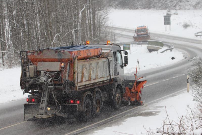 Service d'hiver photographie stock
