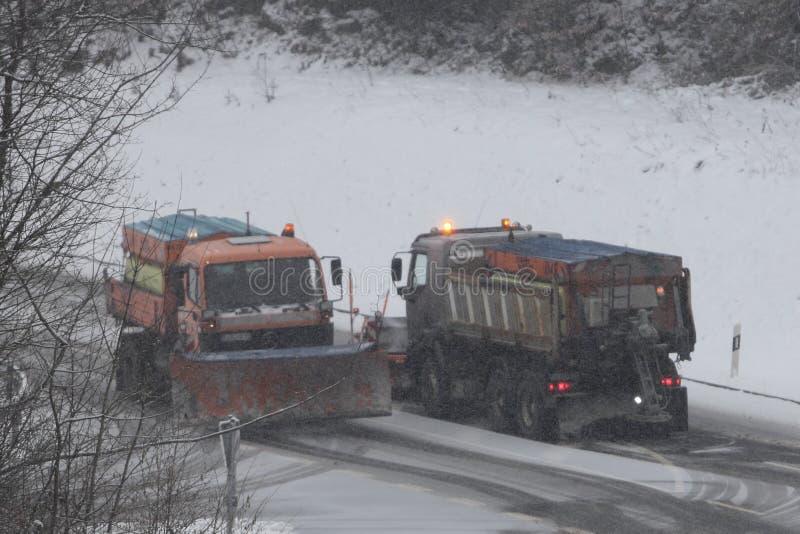 Service d'hiver photos libres de droits