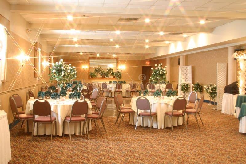 Service De Banquet Photographie stock