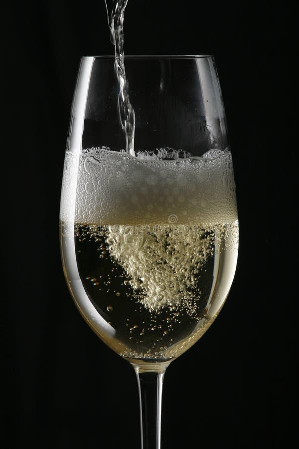 Service de Champagne photo stock