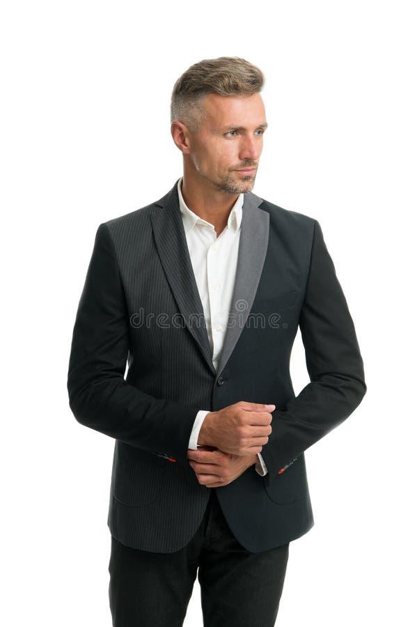Service de costume de loyer Équipement élégant pour l'événement Coiffeur moderne de style de monsieur Barber Shop Concept Le type photographie stock