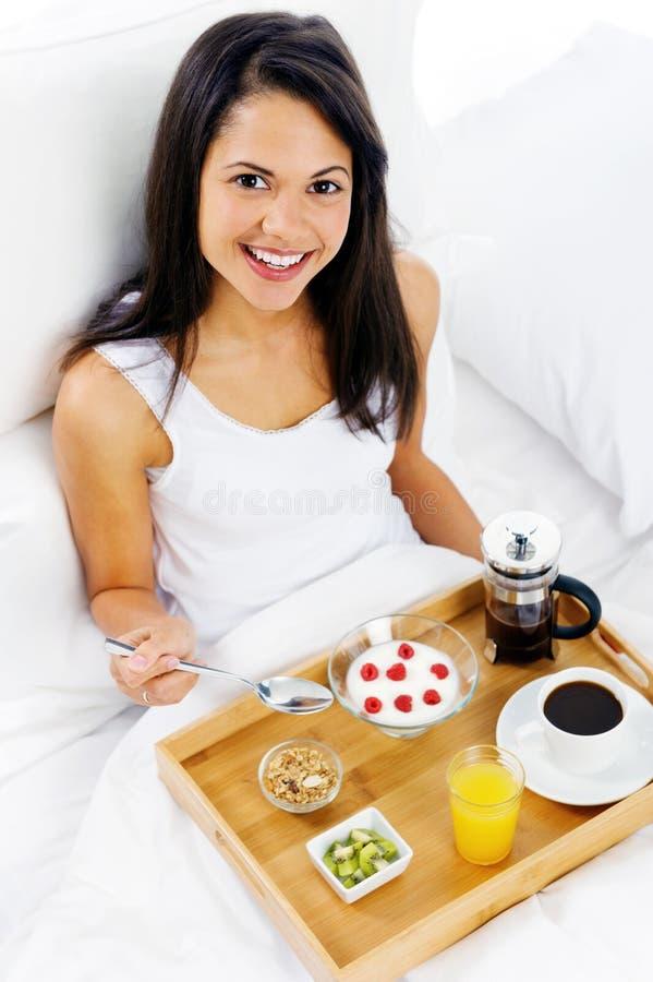 Service de luxe de déjeuner image stock