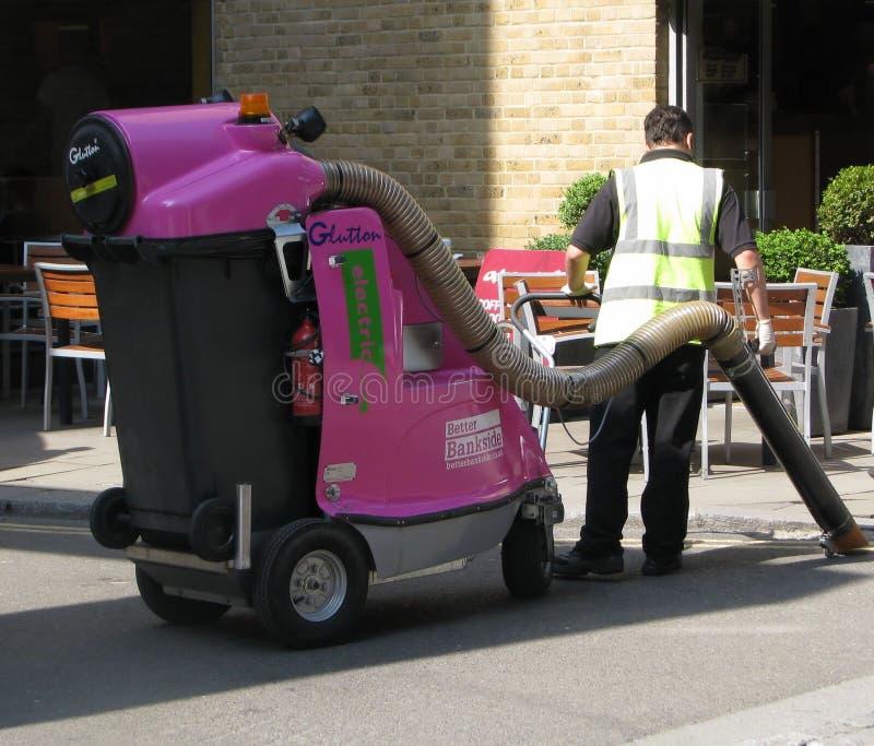Service de nettoyage de rue à Londres