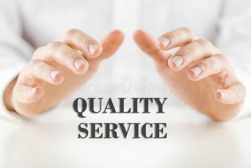 Service de qualité images stock