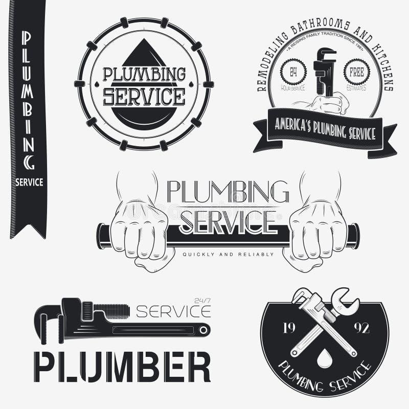Service de tuyauterie Réparations à la maison Réparez et photos stock