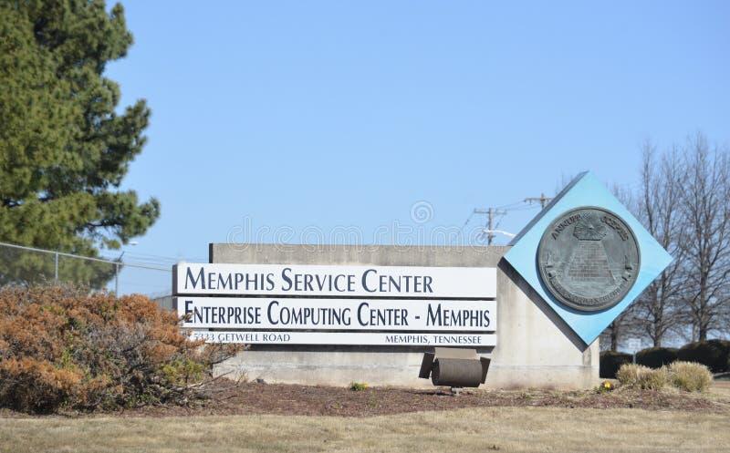 Service des recettes fiscales IRS Memphis, TN photo stock