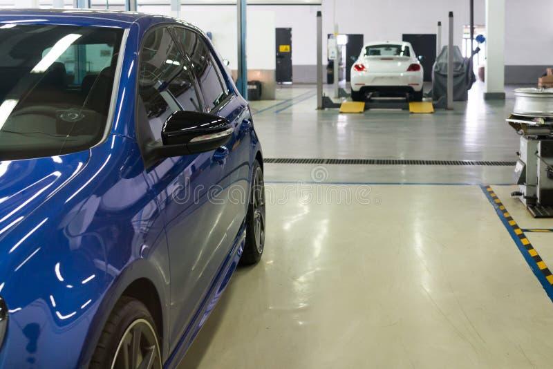 Service för auto reparation royaltyfria bilder