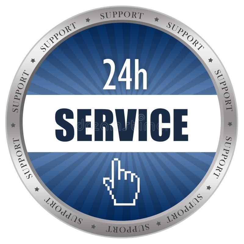 Service icon royalty free illustration