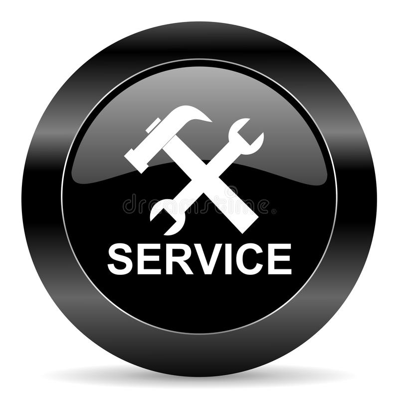 service icon royalty free stock photo
