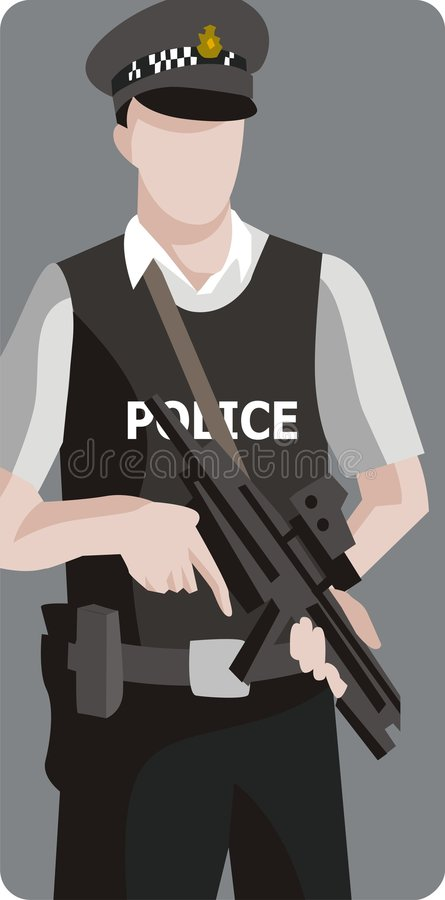 Service Illustration Series stock images