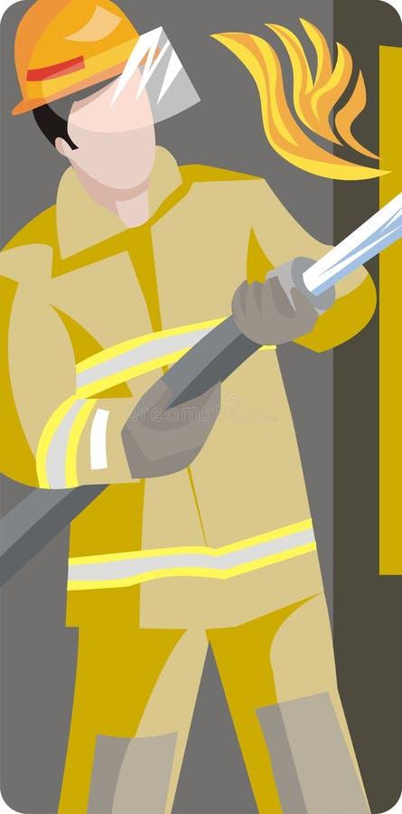 Service Illustration Series stock illustration