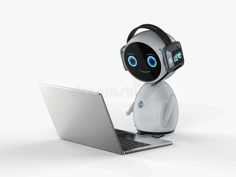 Service ? la client?le d'automation illustration libre de droits