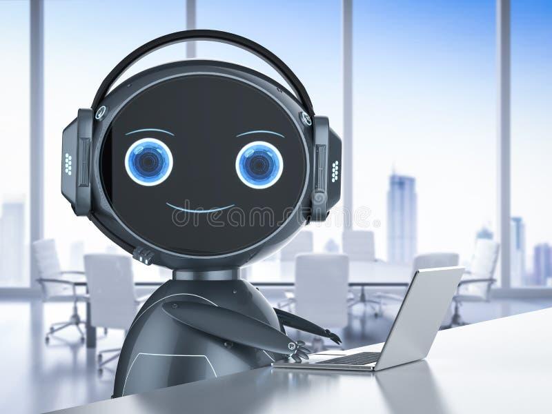 Service ? la client?le d'automation illustration de vecteur