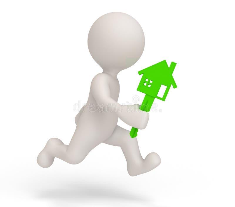 Download Service man home stock illustration. Image of laborer - 18206774