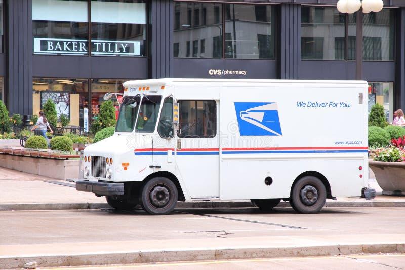 Service postal des USA photo libre de droits