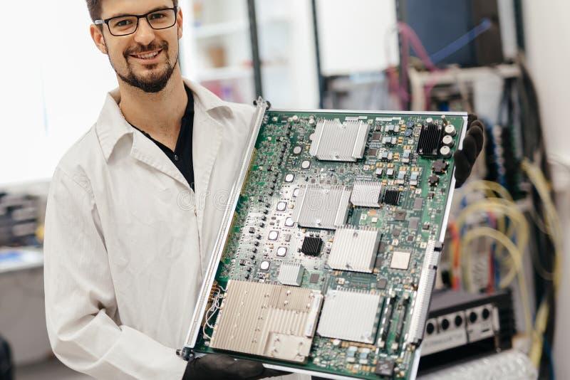 Service professionnel de composantsmatériels image stock