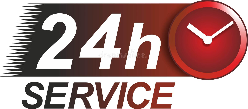 Service sign vector illustration