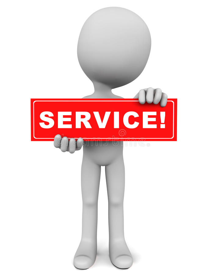 Download Service stock illustration. Image of help, support, serve - 36438101
