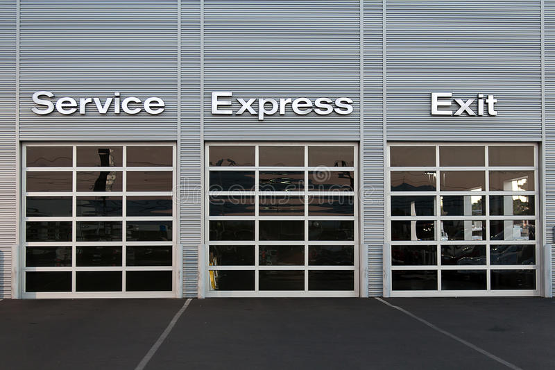 Download Service Station At Car Dealership Stock Photo - Image of station, broken: 35139938