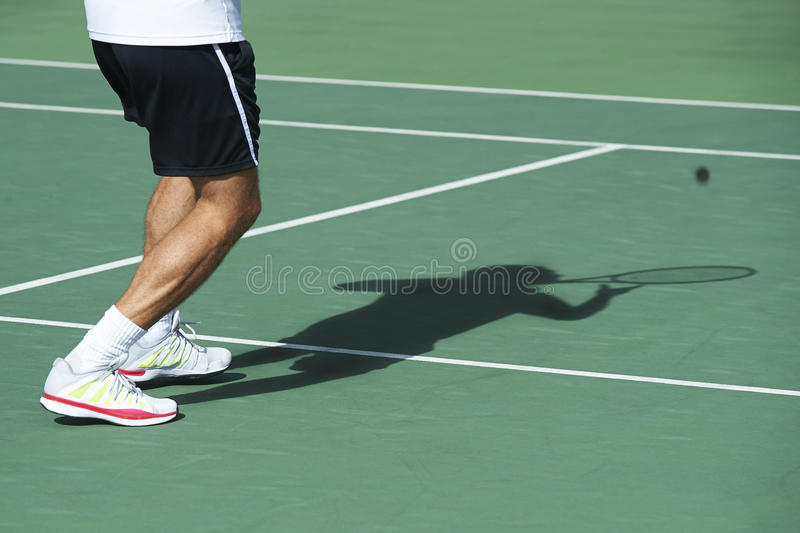 Download Service in tennis warm up stock photo. Image of sport - 32030120
