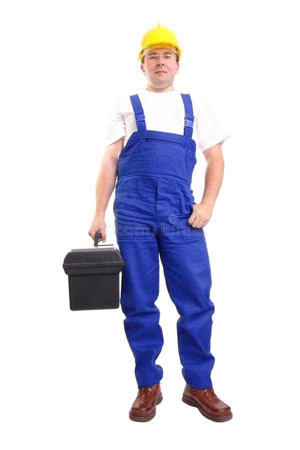 serviceman εργαλειοθήκη στοκ φωτογραφία με δικαίωμα ελεύθερης χρήσης