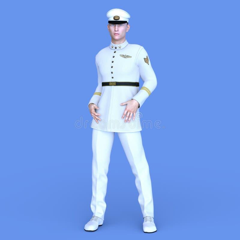 Serviceman royalty free stock photos