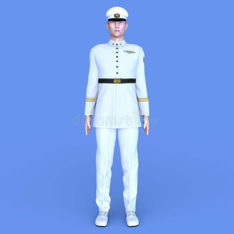 Serviceman stock photography