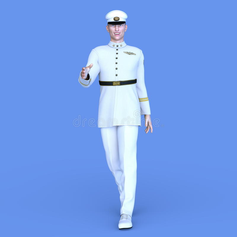 Serviceman royalty free stock images