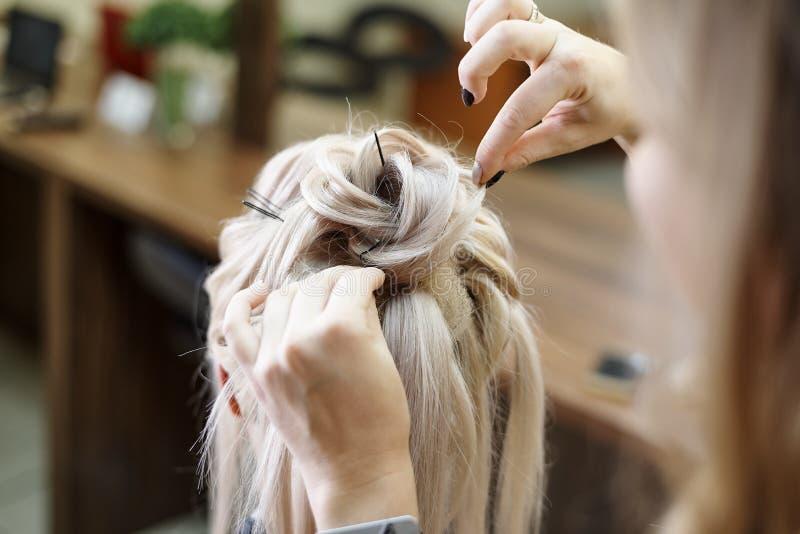 Services de coiffure image stock