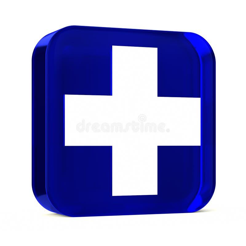 Services de santé bleus image libre de droits