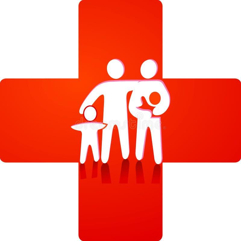 Services de soins de santé illustration de vecteur