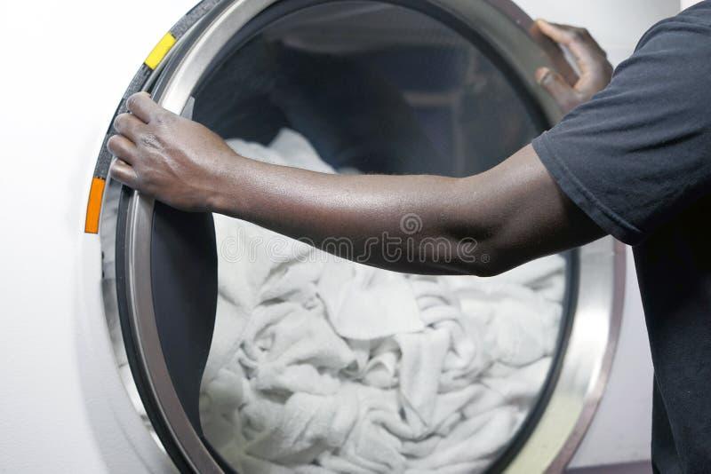 Services de toile de nettoyage d'hôtel image libre de droits