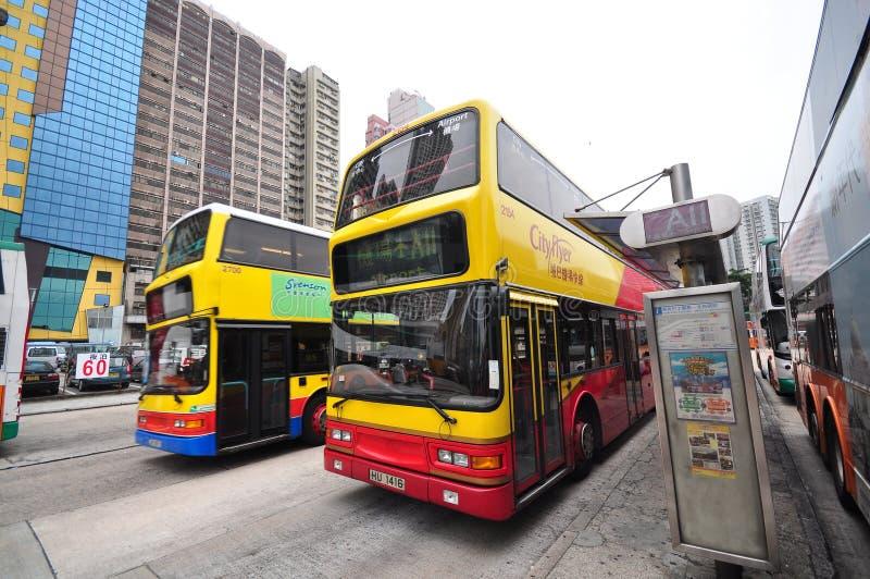 Services de transport ? Hong Kong photo libre de droits