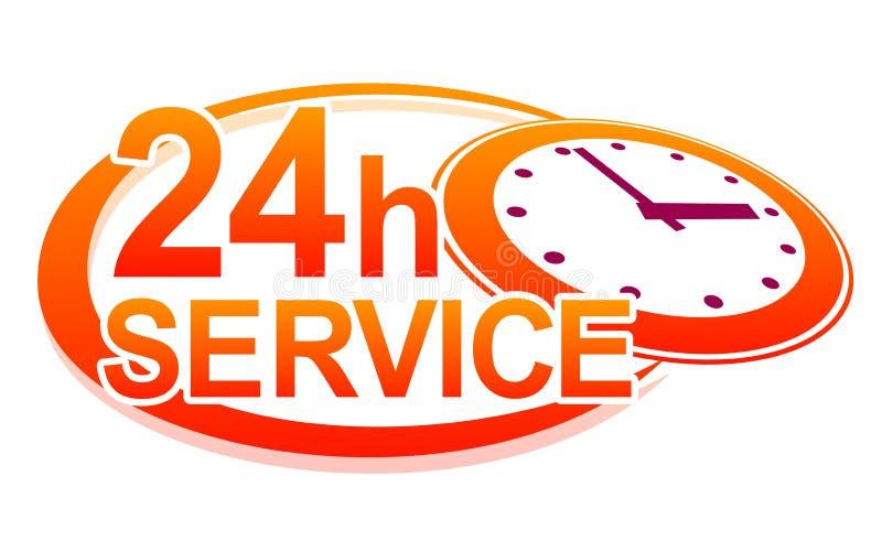 Servicetecken stock illustrationer