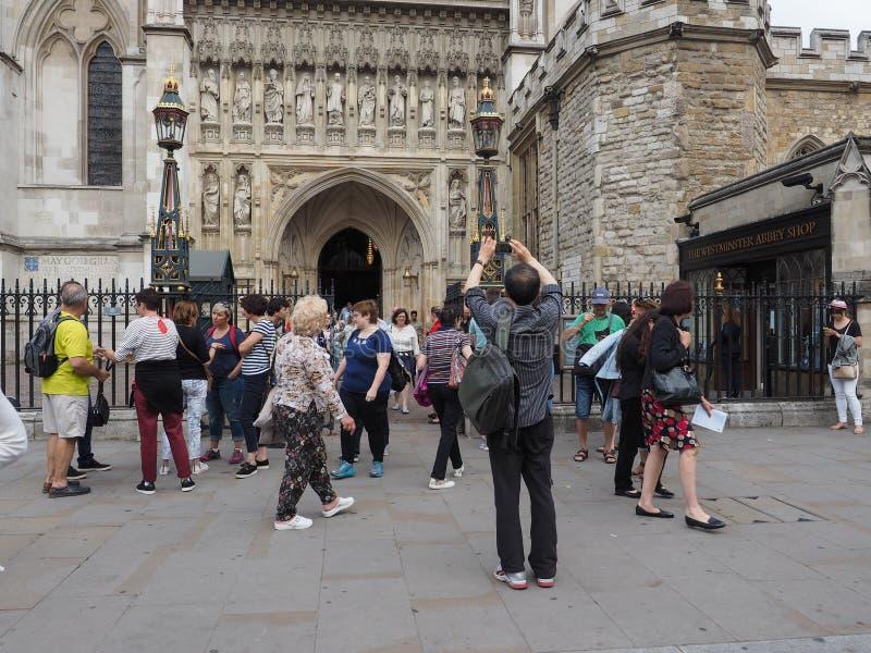 Servicio coral de Westminster Abbey Evensong en Londres fotografía de archivo libre de regalías
