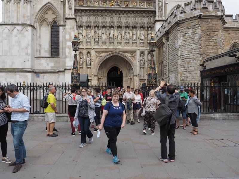 Servicio coral de Westminster Abbey Evensong en Londres imágenes de archivo libres de regalías