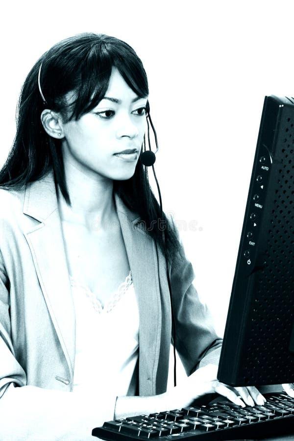 Servicio De Atención Al Cliente Imagen de archivo