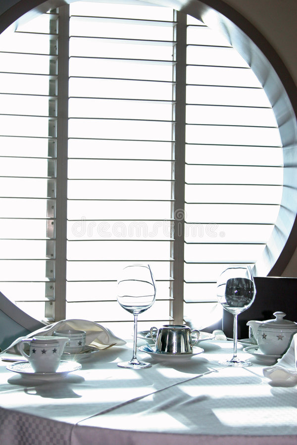 Servicio de cena 3 fotografía de archivo libre de regalías