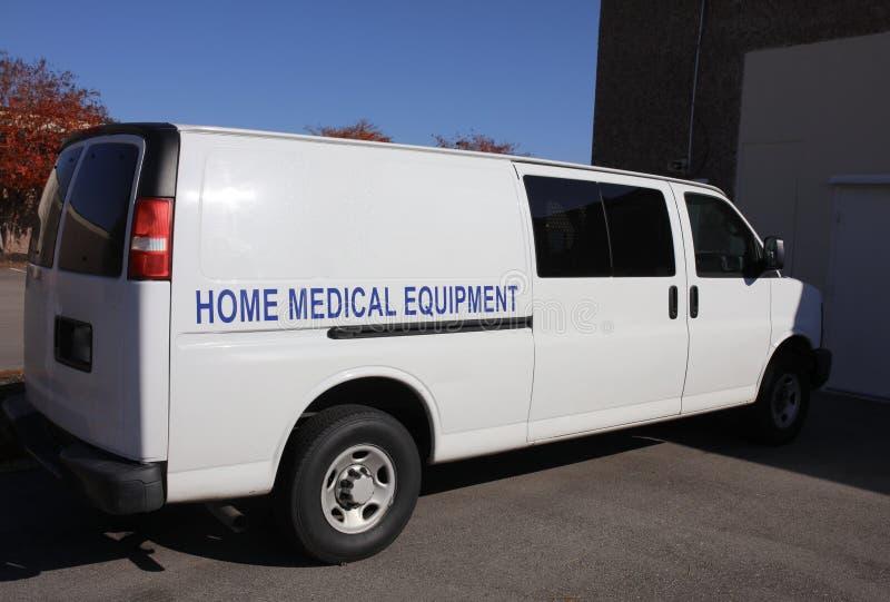 Servicio de equipamiento médico casero fotos de archivo