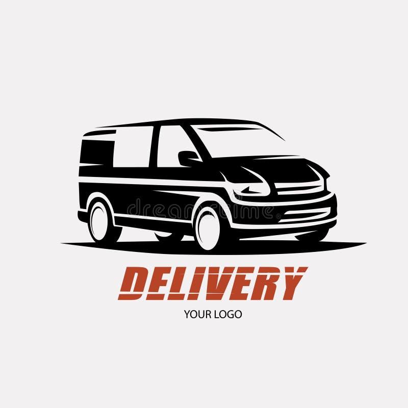 Servicio de la entrega y de envío libre illustration