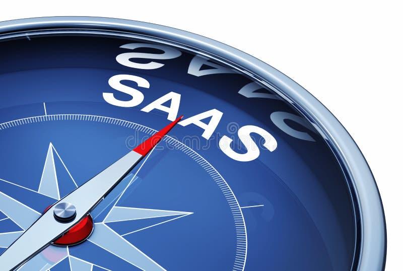 Servicio de SAAS stock de ilustración