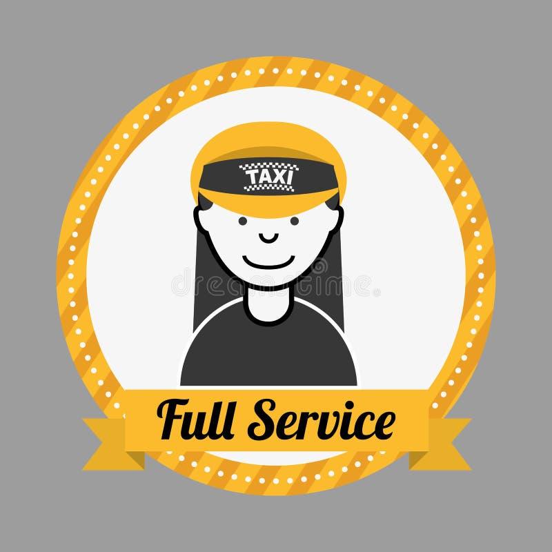 Servicio del taxi libre illustration