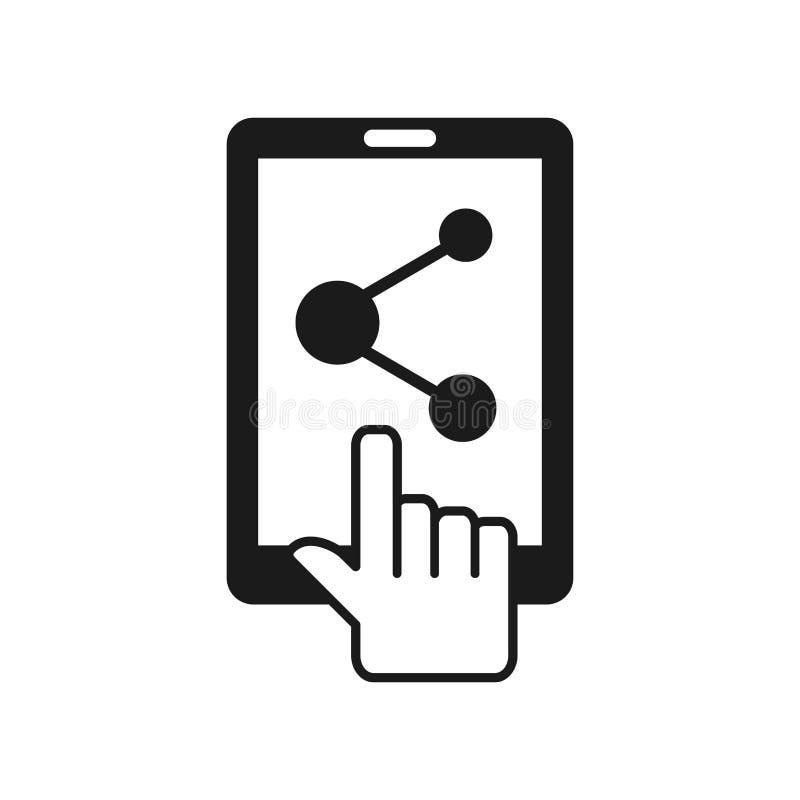 Servicio del teléfono móvil stock de ilustración