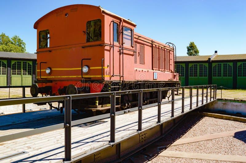 Servicio del tren foto de archivo libre de regalías