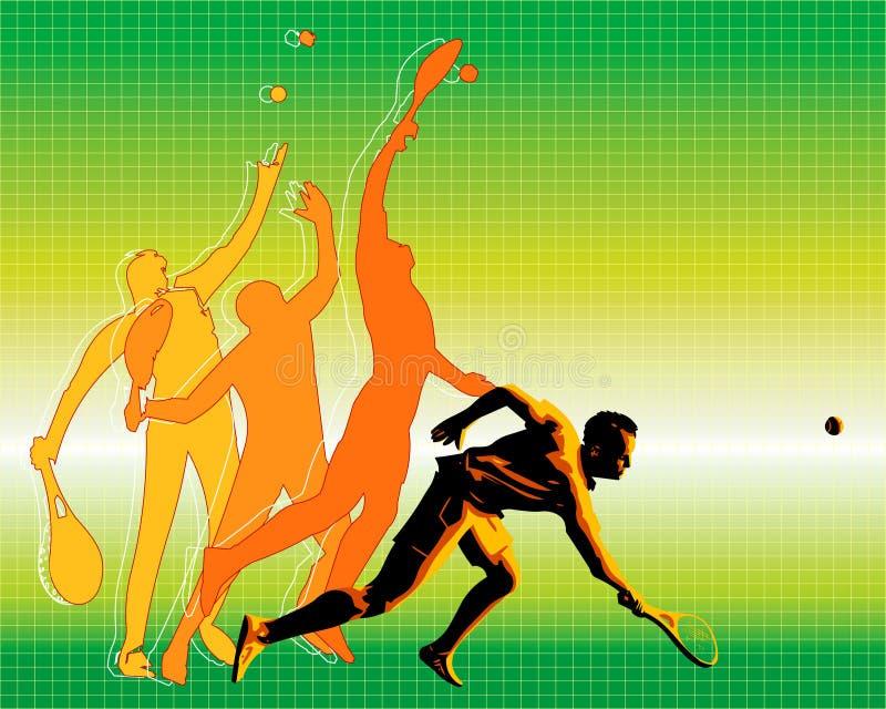 Servicio II ilustración del vector