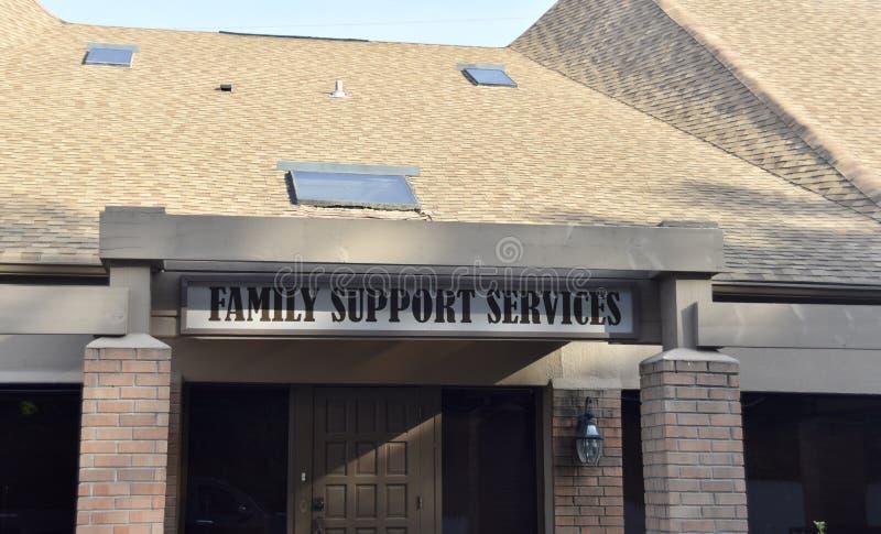 Servicios de asistencia de la familia, Memphis, TN foto de archivo