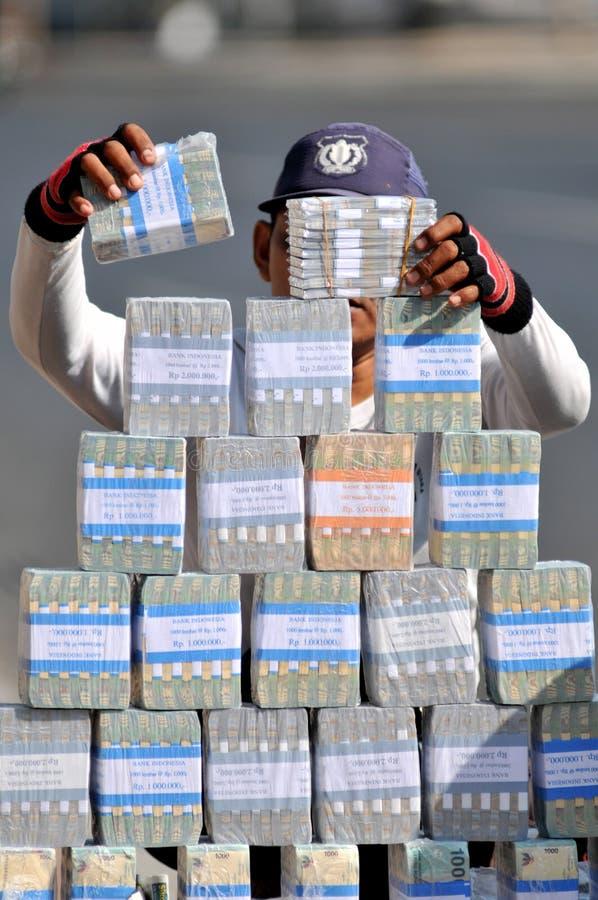 Servicios de intercambio de dinero foto de archivo libre de regalías