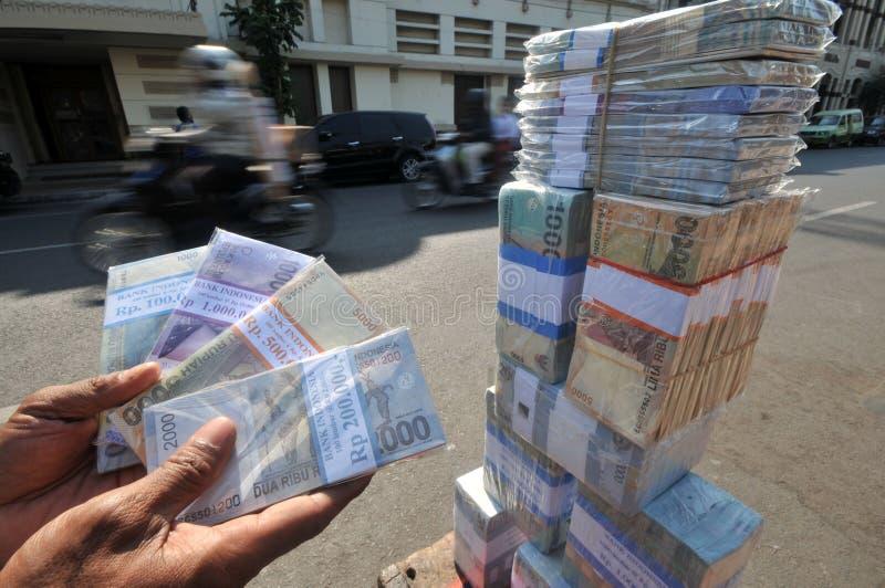Servicios de intercambio de dinero imagen de archivo libre de regalías